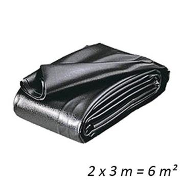 Teichfolien Zuschnitt PVC 0,5 mm 2 x 3 m = 6 qm -
