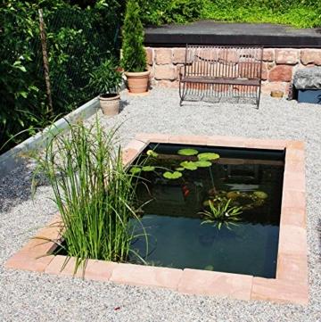 Wasserbecken 1400 Liter - Das moderne Teichbecken von der Firma Haslbeck. -