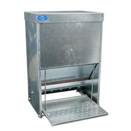 Futterautomat mit Trittklappe 15 kg -