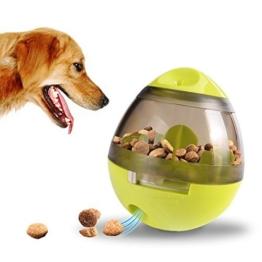 ALAMP Hundespielzeug Ball Interaktives Hundespielball Leckerli-Spender Snackball gegen Langeweile für Hunde und Welpen - 1
