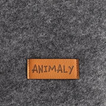 ANIMALY Haustierbett Hundebett Katzenbett SIMPLY weicher und stabiler Ruhe- und Schlafplatz für Hunde und Katzen, Hundesofa Hundecouch, antiallergisch, abnehmbarer Bezug waschmaschinengeeignet - 5