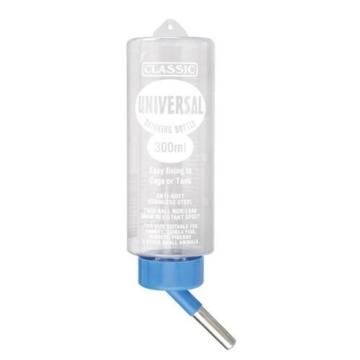 Beeztees 800205 Trinkflasche Universal, 300ml, transparent - 1