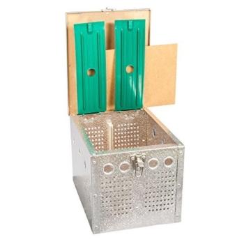 Breker Aluminium Transportkorb 2 Abteilungen - 3