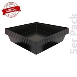 Breker Kotwanne 100 x 100 cm 5er Pack - 1
