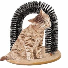 My Petez Massage und Enthaarungsbogen für Katzen, inkl. Katzenminze - 1