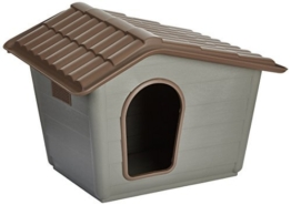 Nayeco P100010–Hundehütte Eco Mini, 41x 60x 50cm, grün - 1