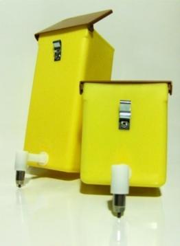 Nippel-Trinkflasche 0,5 L mit Klappdeckel - 1