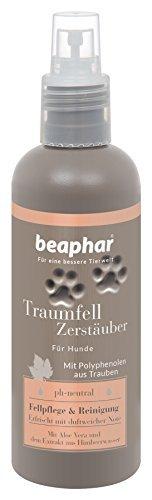 Premium Traumfell Zerstäuber | Reinigung & Fell-Pflege für Hunde | Hunde Deo mit Himbeerwasser-Extrakt | Feuchtigkeitsspendend (Aloe Vera) | 200 ml - 1