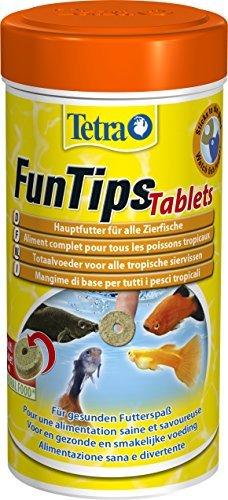 Tetra FunTips Tablets Haft-Futtertabletten, Hauptfutter, haftet an der Scheibe, zum Fische beobachten, 300 Tabletten - 1