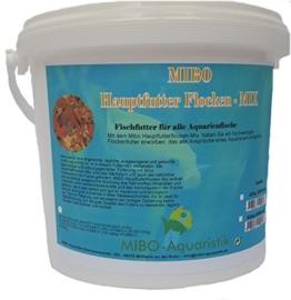 MIBO Flockenfutter 5.000 ml / 850 g Fischfutter Hauptfutterflocke für alle Zierfische - 1