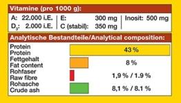 JBL NovoTab 30240 Alleinfutter für fleischfressende Aquarienfische, Tabletten 250 ml - 1