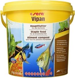 Sera Vipan Großflocke 2 kg, 1er Pack (1 x 2 kg) - 1