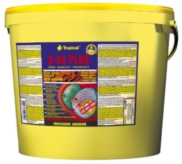 Tropical D-50 Plus Farbförderndes Flockenfutter für Diskusfische, 1er Pack (1 x 5 l) - 1